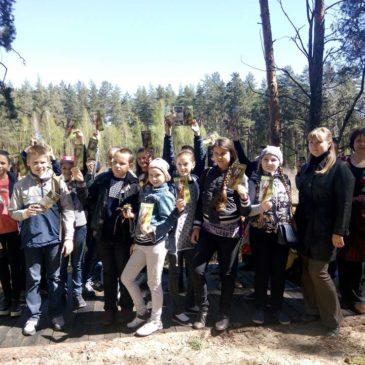 Весняна екскурсія учням Краснокутської гімназії