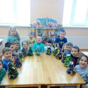 Новорічні заняття з дошкільнятами Краснокутського ДНЗ №1