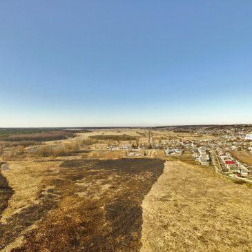 Дослідження весняних палів на території Краснокутського району