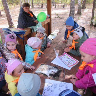 Візит юних туристів з  ДНЗ №1 «Веселка»