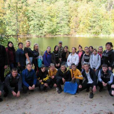 Лекція на природі в НПП «Слобожанський»