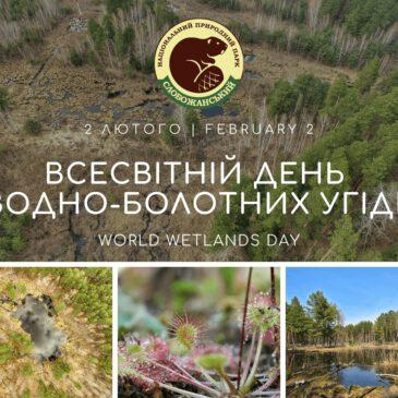 2 лютого – Всесвітній день водно-болотних угідь (World Wetlands Day)